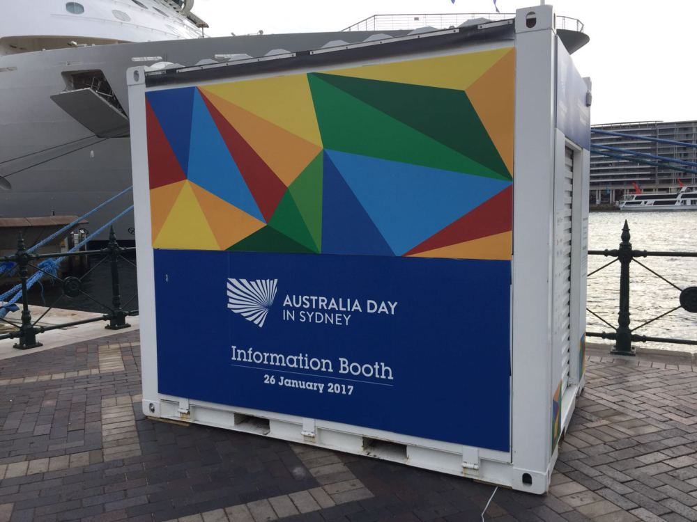 Australia Day Information Booth 2